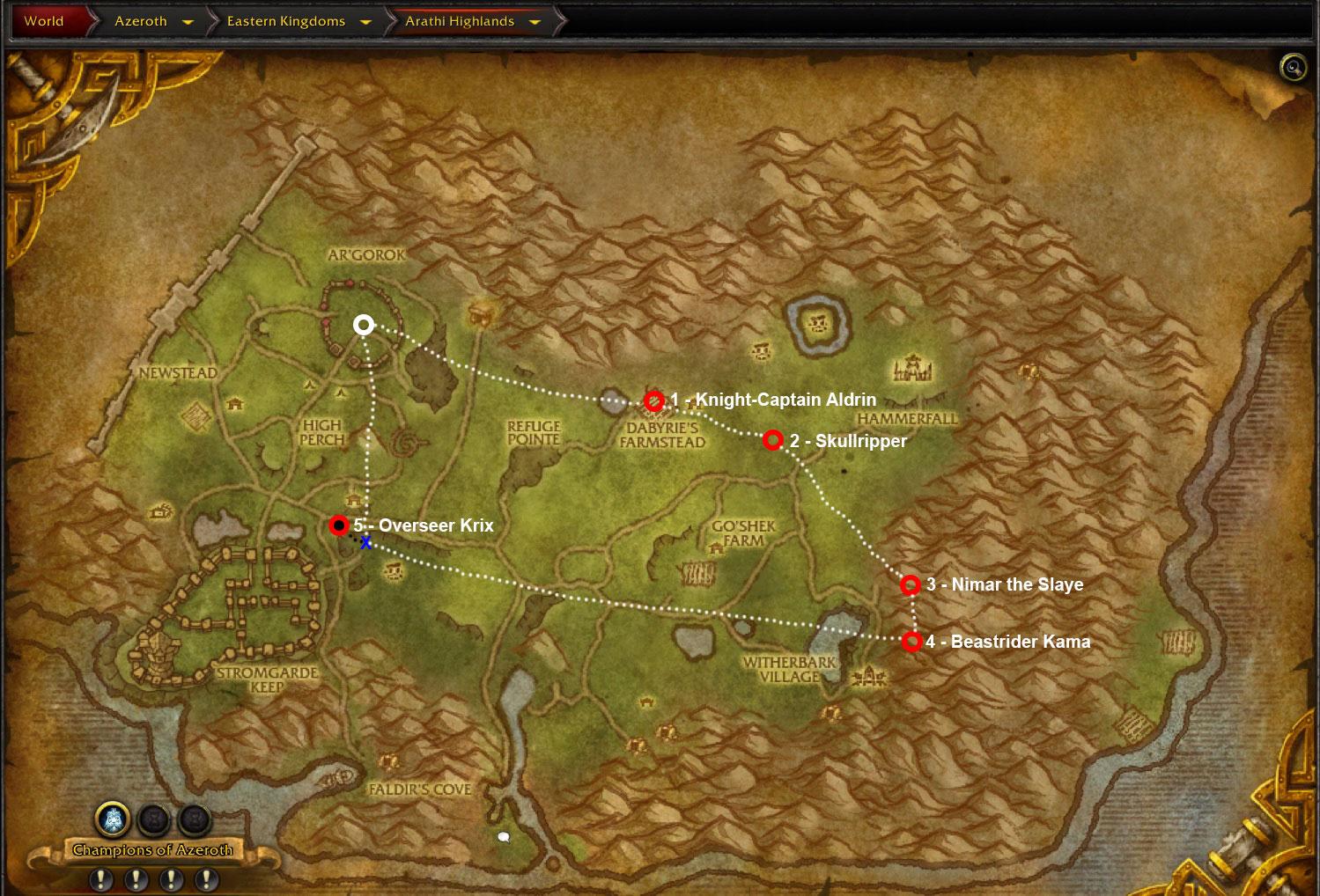 wow-arathi-highlands-horde-mounts-farming-map